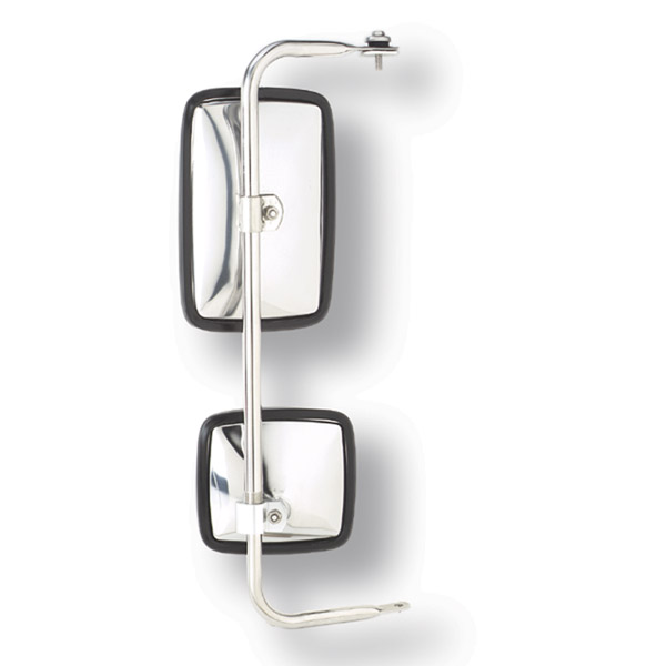 28453 – Split Mirror, Stainless Steel