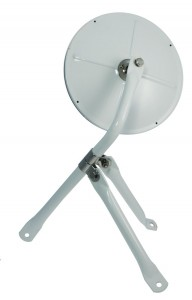 "8 1/2"" Convex Cross-Over Mirror"