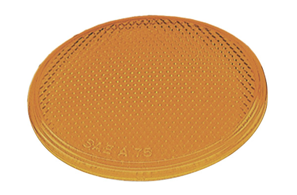 40053 – Round Stick-On Reflector, Yellow