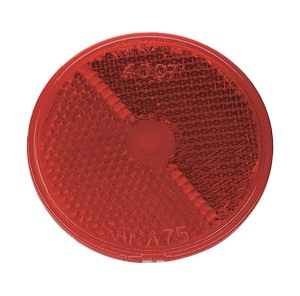 "2 1/2"" Round Stick-On Reflector"