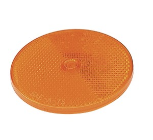 40093 – Sealed Center-Mount Reflector, Yellow