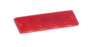 Minirreflectores rectangulares adhesivos / de montaje con tornillo