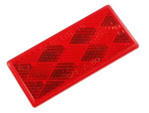 Reflectores rectangulares adhesivos