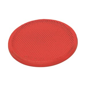 41002 – Round Stick-On Reflector, 2″ Red