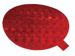 41142 – Stick-On Tape Reflector, Red
