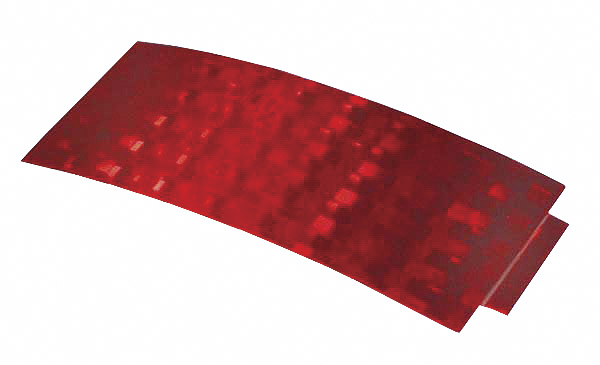 41152 – Stick-On Tape Reflector, Red