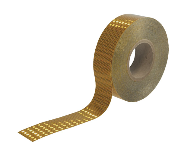 41273 – Conspicuity Tape for Rail Cars, 4″ X 150′ Roll, Kiss Cut, Yellow