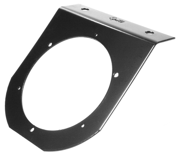 42052 – Mounting Bracket For 4″ Round Lights, 45° Angle, Black