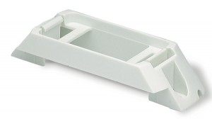 Rail-Mount Bracket For Small Rectangular Lights