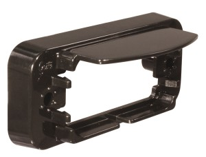 42162 – License Light Bracket, Black