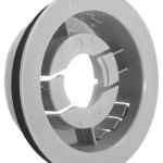 Snap-In Mounting Flange For 2 1/2