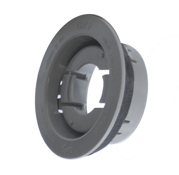 42190 – Snap-In Theft-Resistant Mounting Flange For 2″ Round Lights, Gray
