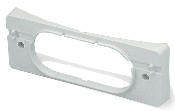 Grote Industries - 43030 – 9 1/2″ Corner Radius Bracket, White