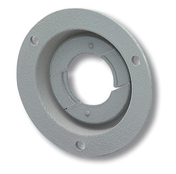 43150 – Theft-Resistant Mounting Flange For 2″ Round Lights, Gray