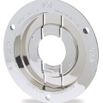Theft-Resistant Mounting Flange & Pigtail Retention Cap For 2 1/2