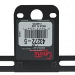 License Plate Bracket, Black, Retail Pack