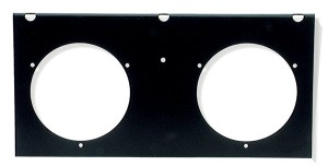"2-Light Mounting Module For 4"" Round Lights"