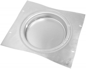 "12"" Recessed Mounting Pan For 7"" LED Lights"