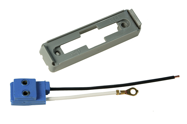 43790 – Mounting Bracket For Large Rectangular Lights, Gray Kit (43780 + 66980)