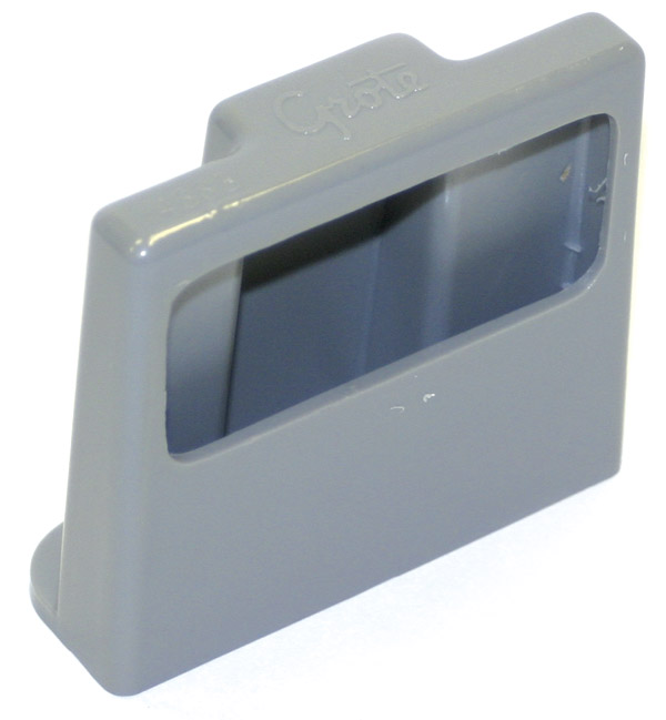 43830 – License Light Mounting Bracket, Gray