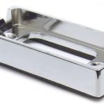 Bracket For Small Rectangular Lights, Chrome Plated Kit
