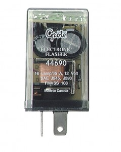 44690 – 2 Pin Flasher, 16 Light Electronic
