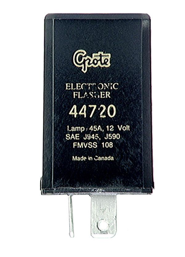 Grote Industries - 44720 – 3 Pin Flasher, 20 Light Heavy Duty Electronic