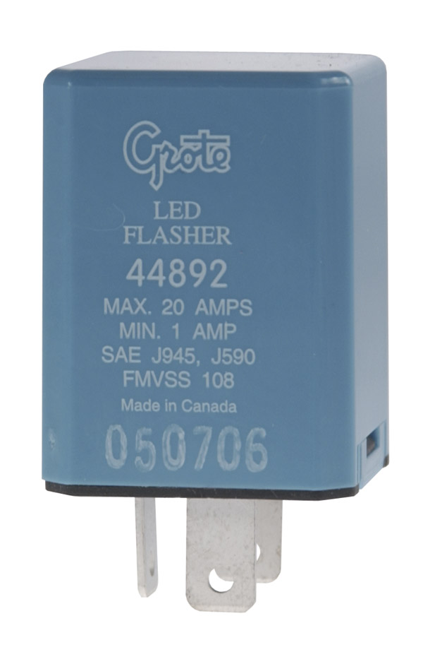 44892 – 3 Pin Flasher, North American (JSO) Pinout