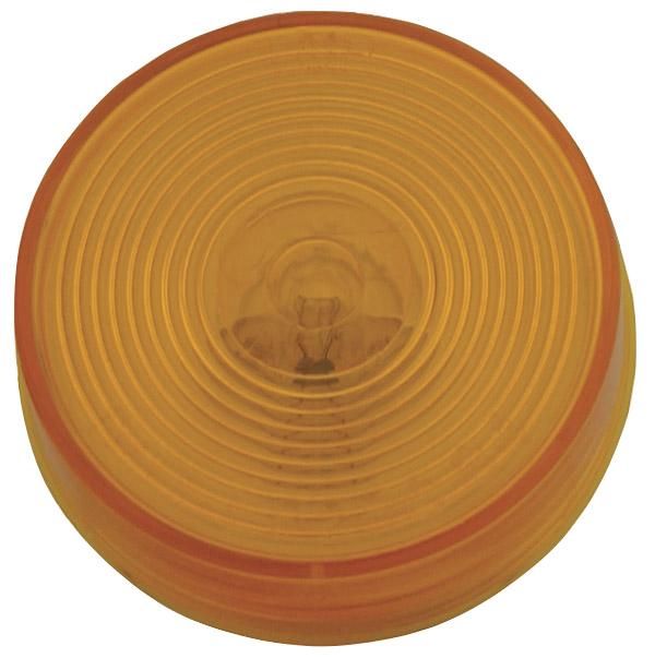 45183 – 2 1/2″ Clearance Marker Light, Optic Lens 24V, Yellow