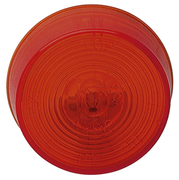 45202 – 2″ Clearance/Marker Lamp, 24V, Red