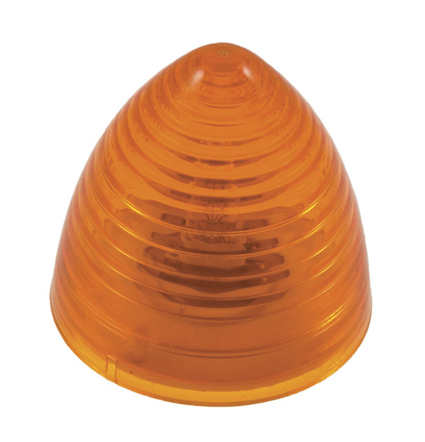 Grote Industries - 45323 – 2 1/2″ Beehive Clearance Marker Light, Yellow