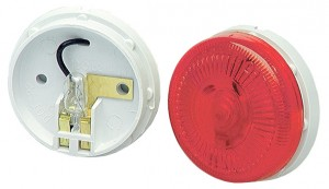 "2 1/2"" Surface-Mount Single-Bulb Clearance Marker Light"