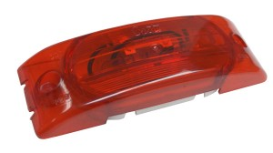 Two-Bulb Turtleback® No-Splice Clearance Marker Light