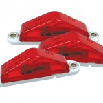 clearance marker light peak lens blunt bulk cut red