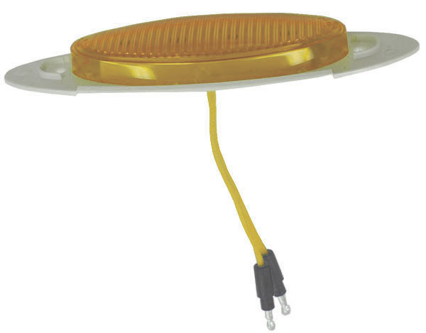 45623 – M1 Series LED Clearance Marker Light, .180 Molded Bullet w/out Bezel, Yellow