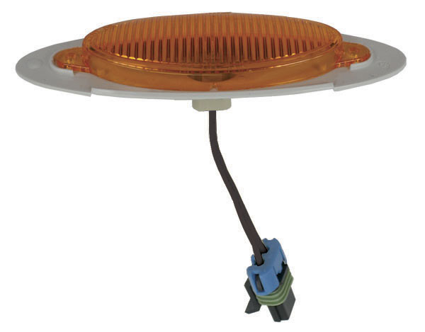 45633 – M1 Series Clearance Marker Light, Metripack® Plug w/out Bezel, Yellow