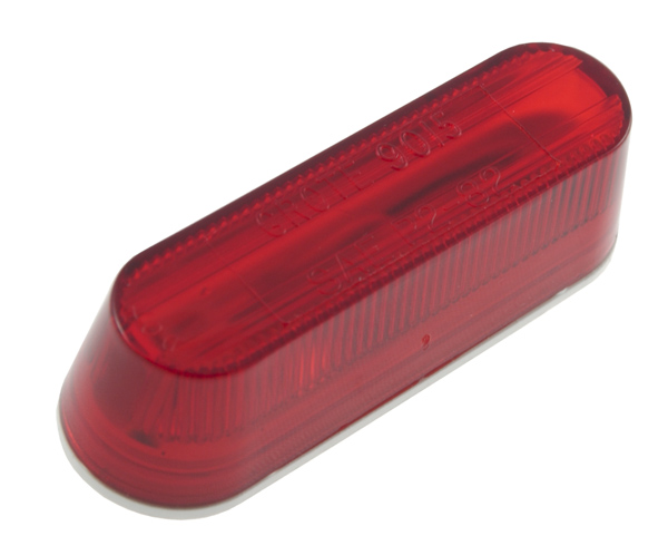 45672 – Thin-Line Single-Bulb Clearance / Marker Lamp, Red