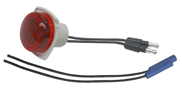 45792 – M3 Series LED Clearance Marker Light, .180 Molded Bullet w/out Bezel, Red