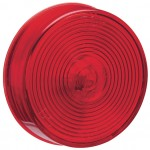 2 1/2 clearance marker light optic red
