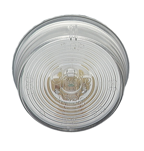 Grote Industries - 45821 – 2″ Twist-In Sealed License Light, Clear