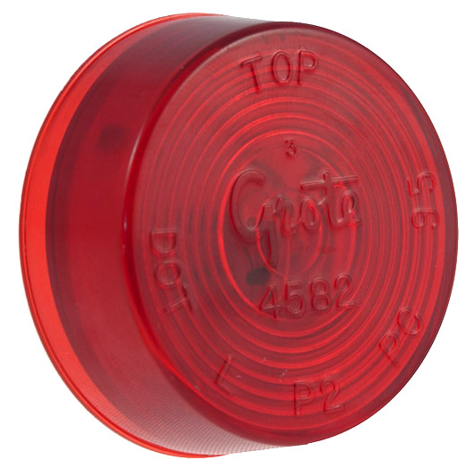 Grote Industries - 45822 – 2″ Clearance Marker Light, Red