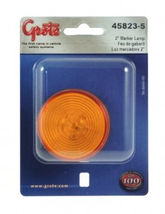 45823-5 – 2″ Clearance Marker Light, Yellow, Retail Pack