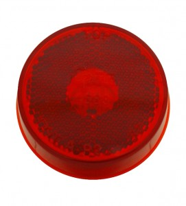 45832 – 2 1/2″ Clearance Marker Light, Built-In Reflector, Red, 12V