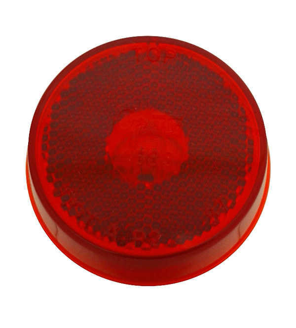 45832 – 2 1/2″ Clearance Marker Light, Built-In Reflector, Red