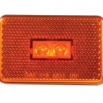 Rectangular LED Clearance Marker Light for Submersible Trailer Kit