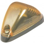 low profile areodynamic cab marker light p2 yellow