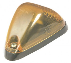 Low-Profile Aerodynamic Cab Marker Light