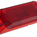 economy sealed clearance marker light red