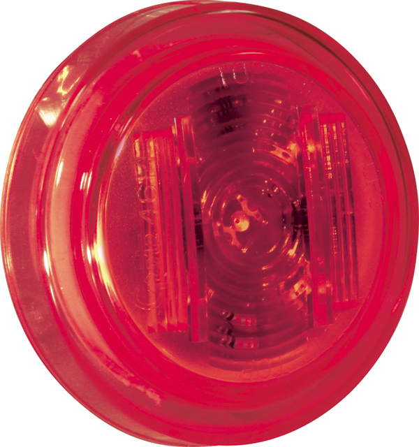 46142 – SuperNova® 2 1/2″ Clearance Marker LED Light, PC Rated, Red