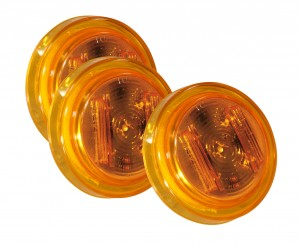 46143-3 – SuperNova® 2 1/2″ Clearance Marker LED Light, PC Rated, Yellow, Bulk Pack